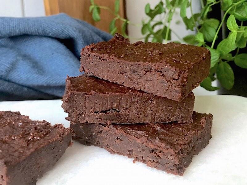 Brownies med svarta bönor (veganskt recept)