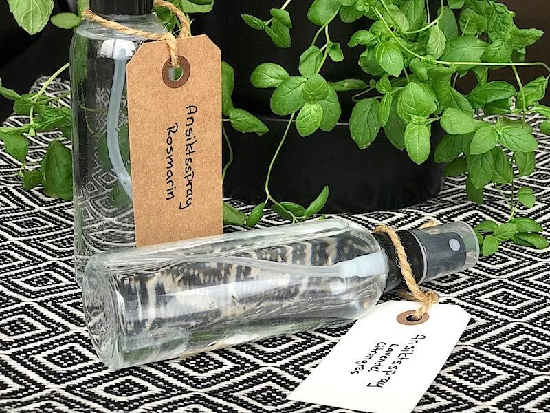 DIY: Ansiktsspray med aloe vera och eteriska oljor
