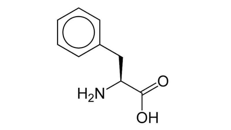 Aminosyran Fenylalanin i kosten och som kosttillskott