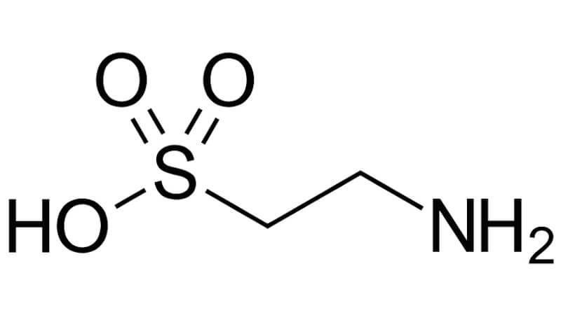 Funktion av aminosyran taurin vid träning.