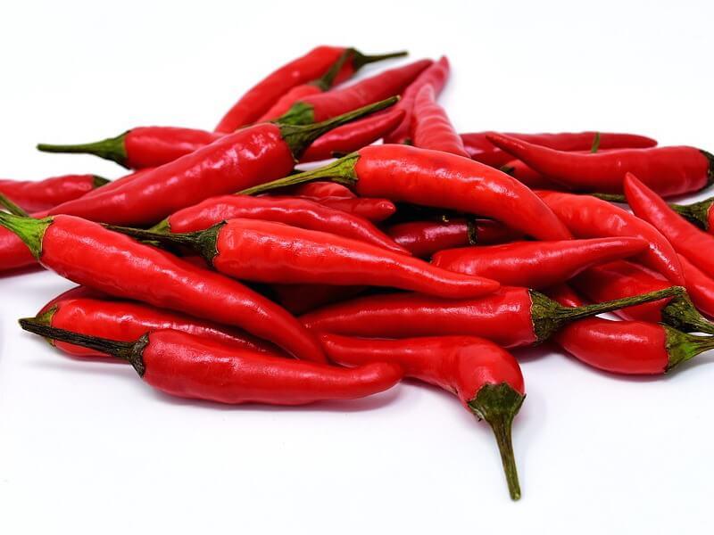 Chili och chiliextrakt i kosttillskott och smärtlindrande krämer