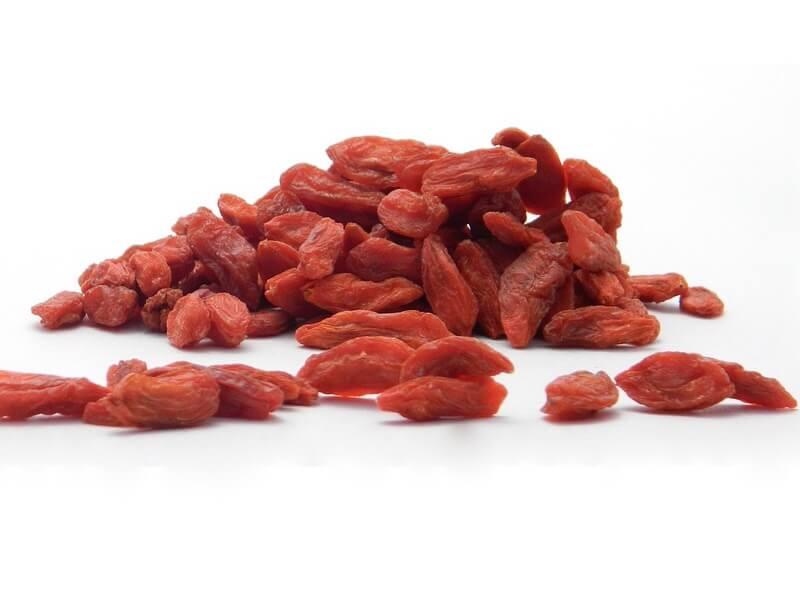 Goji som livsmedel och hälsokostprodukt