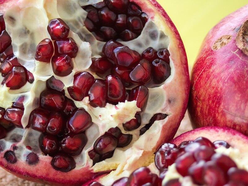 Granatäpple som livsmedel