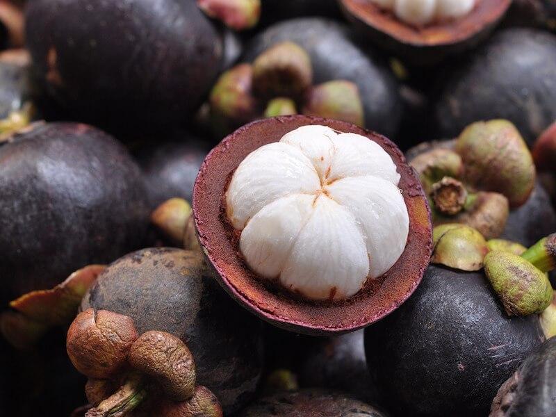 Mangostan som livsmedel och kosttillskott