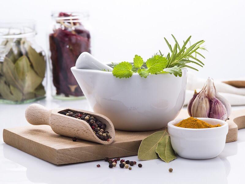 Användning av örter och naturmedicin