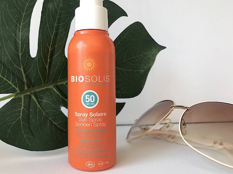 Biosolis Solspray SPF 50+ recension