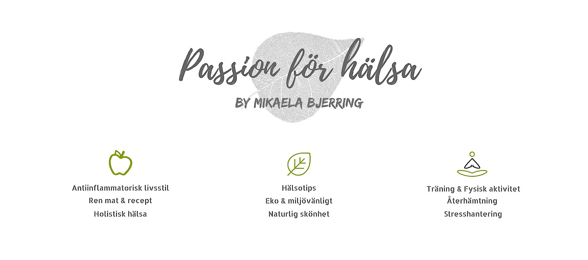 Passion för hälsa header