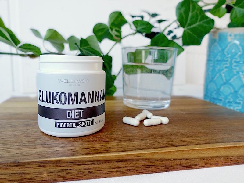 Fibertillskottet glukomannan (konjakrot)