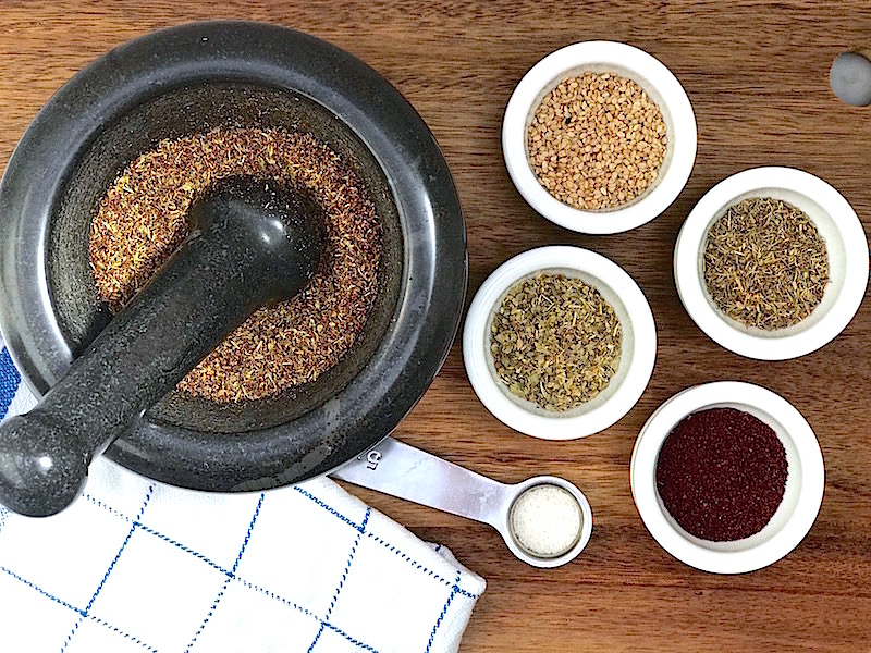 Kryddblandningen zaatar recept