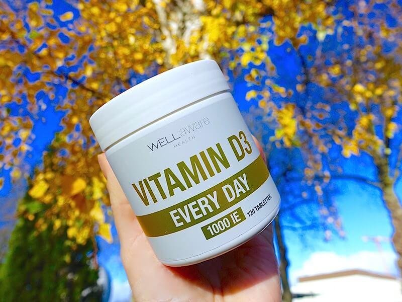 Vikten av att få i sig D-vitamin under vinterhalvåret