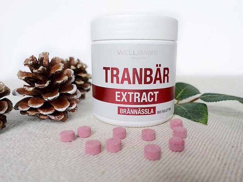 WellAware Tranbär- och Brännässelextrakt