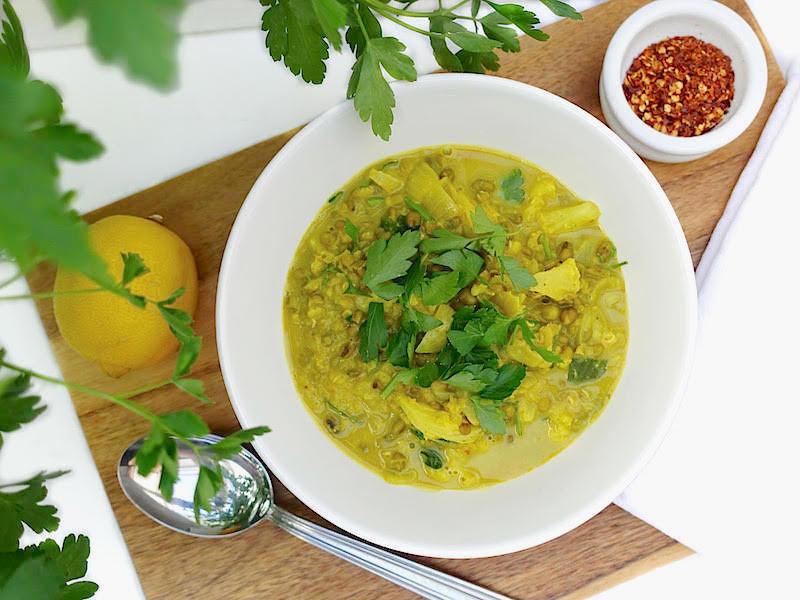 Indisk mungbönsgryta recept